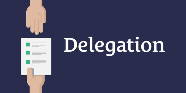 Delegation vs Assignment